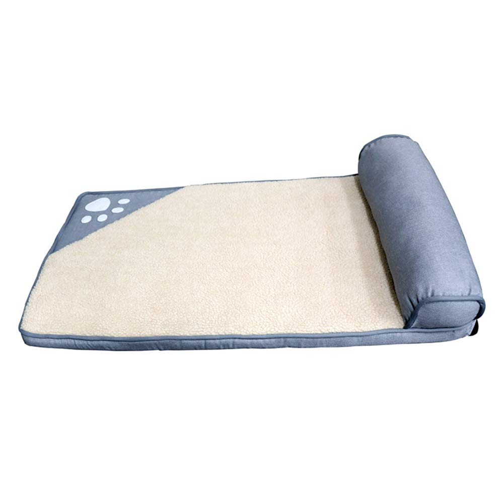 Cuccia Ortopedica per Animali Domestici, Rimovibile e Lavabile, Comoda e Comoda Spugna di Memoria, per Cani di Taglia Media Piccola (Dimensioni   85×45cm)