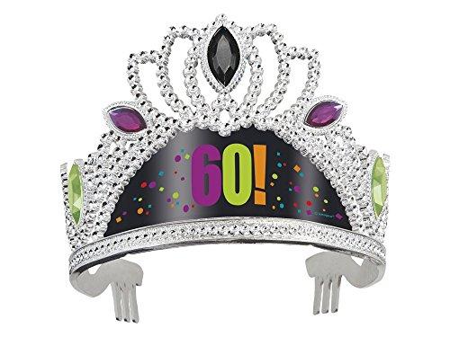 Birthday Cheer 60th Tiara