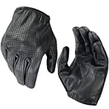 ROAR Men's Air Pro Driving Motorcycle Gloves Perforated Handback Police Driving Glove (Small)