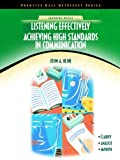 img - for Listening Effectively: Achieving High Standards in Communication (NetEffect Series) Paperback   September 28, 2002 book / textbook / text book