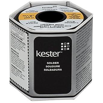 KESTER 24–6337–0010 44 Kolophonium Core Solder 63/37 Saite: 0,020, 1 ...