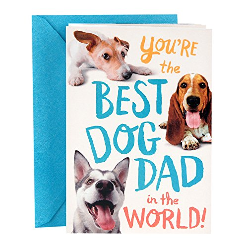 Hallmark Funny Father's Day Greeting Card from the Dog (Dog Dad)