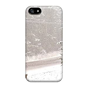 Cynthaskey Iphone 5/5s Hybrid Tpu Case Cover Silicon Bumper Downfall