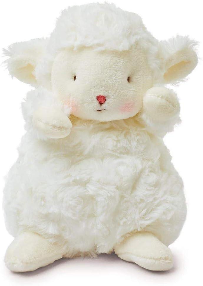 Urisgo Cojín de peluche con forma de oveja, 17 cm, para niña