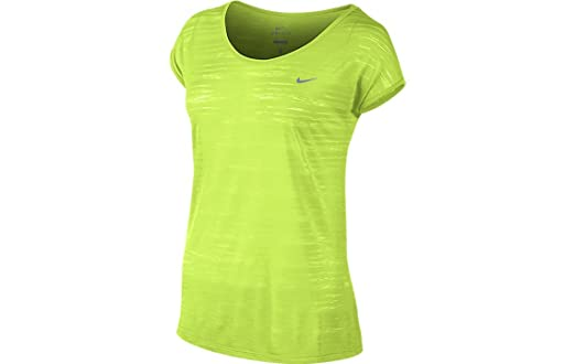 Nike Women's Dri-Fit Cool Breeze - Yellow - Small