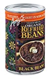 Amy's Light in Sodium Organic Refried Black Beans, 15.4-Ounce Cans (Pack of 12) ( Value Bulk Multi-pack)