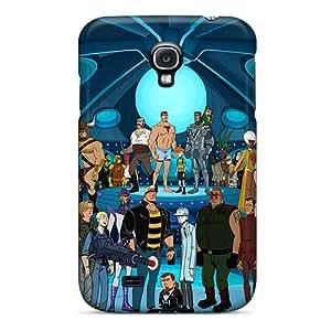 Awesome WhGMJEF2673bMEzU LatonyaSBlack Defender Tpu Hard Case Cover For Galaxy S4- The Venture Bros Cartoonss