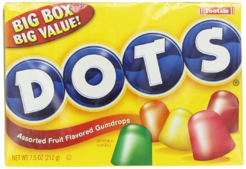 Tootsie Dots Assorted Flavors  7 5000 Ounces  Pack Of 12