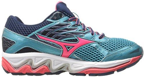 Mizuno Womens Wave Paradado 3 Running Shoe Capri-pink