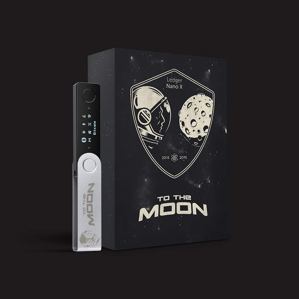Amazon.com: Ledger Nano X - To The Moon Edition ...