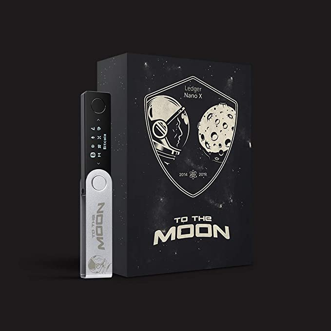 Ledger Nano X - To The Moon Edition: Amazon.es: Electrónica