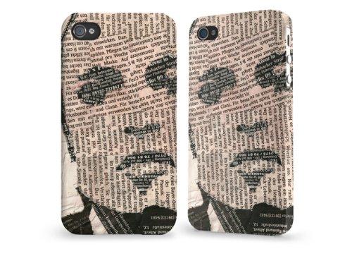 """Hülle / Case / Cover für iPhone 4 und 4s - """"Paperman"""" von caseable"""