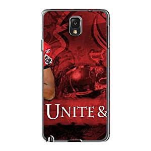 Bumper Hard Phone Covers For Samsung Galaxy Note 3 With Custom High Resolution Tampa Bay Buccaneers Image Icase88