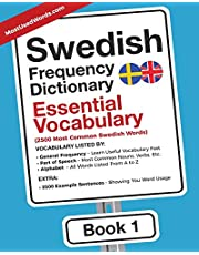 Swedish Frequency Dictionary - Essential Vocabulary: 2500 Most Common Swedish Words