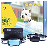 GoodBoy Electric In-Ground Dog Fence - Perimeter System with 2 Collars - Best for Safe Hands-Off Dogs and Pets Containment (20+ lbs)