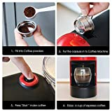 Volwco Reusable Coffee Pods,Stainless Steel