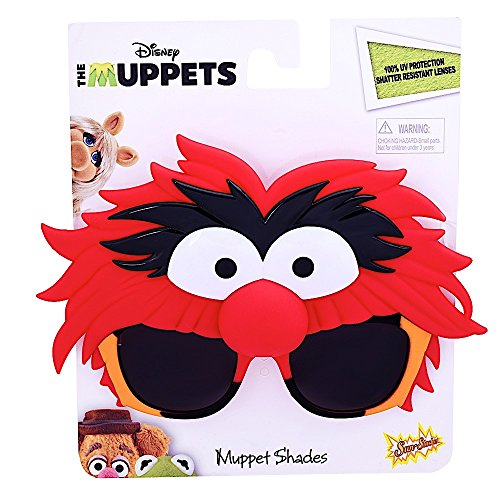 Sunstaches Muppets Animal Sunglasses, Party Favors, (Muppets Animal Costumes)