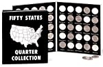 Commemorative State Quarters Black White Album