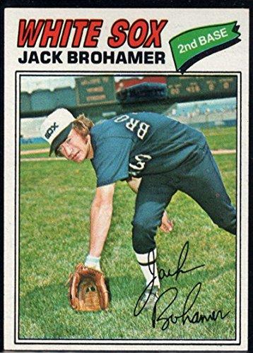 Baseball MLB 1977 Topps #293 Jack Brohamer White Sox