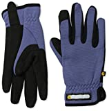 Carhartt Women's Work-Flex Breathable Spandex Work Glove, Blue Dusk Black, Medium