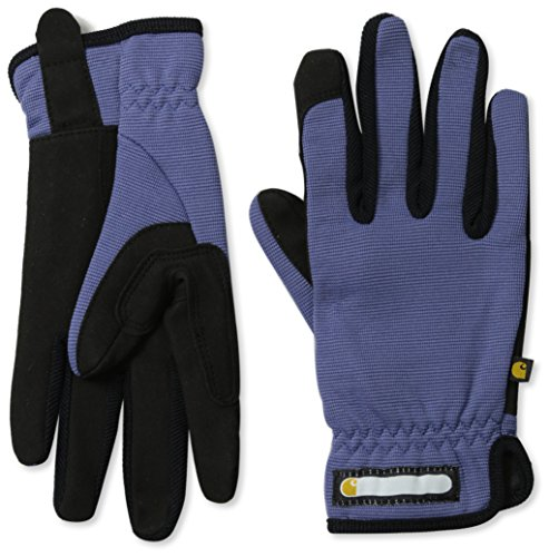 Carhartt Women's Work-Flex Breathable Spandex Work Glove, Blue Dusk Black, Medium by Carhartt
