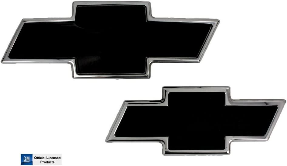Custom Install Parts Front Grille Bowtie Emblem Gold for 2003-2007 Chevrolet Avalanche Silverado