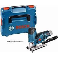 Bosch Professional 12V System sladdlös sticksåg GST 12V-70 (2x sågklingor, glidsko, splitterskydd, sågdjup i trä: 70 mm…