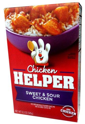 Betty Crocker SWEET & SOUR CHICKEN Chicken Helper 12.2oz (2 (Sweet Sour Glaze)