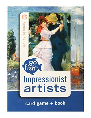 Impressionist Artists Go Fish for Art Cards & Book (Art Card)
