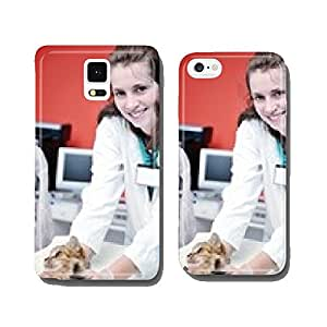 veterinarian and assistant in a small animal clinic cell phone cover case iPhone6 Plus