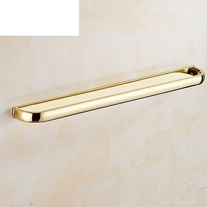 toalleros dorados Cobre y dorado solo barra Toallero desorbitarte de  toallas hardware de 51cc953796a7
