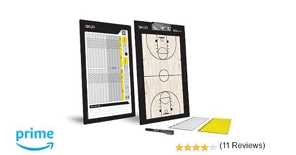 SKLZ Coaches Board Magna Basketball Trainer Taktikbrett und ...