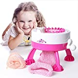Nashinals Cake Needle Positions Big DIY Hand Knitting Machine Weaving Loom Knit for Scraf Hat Children...
