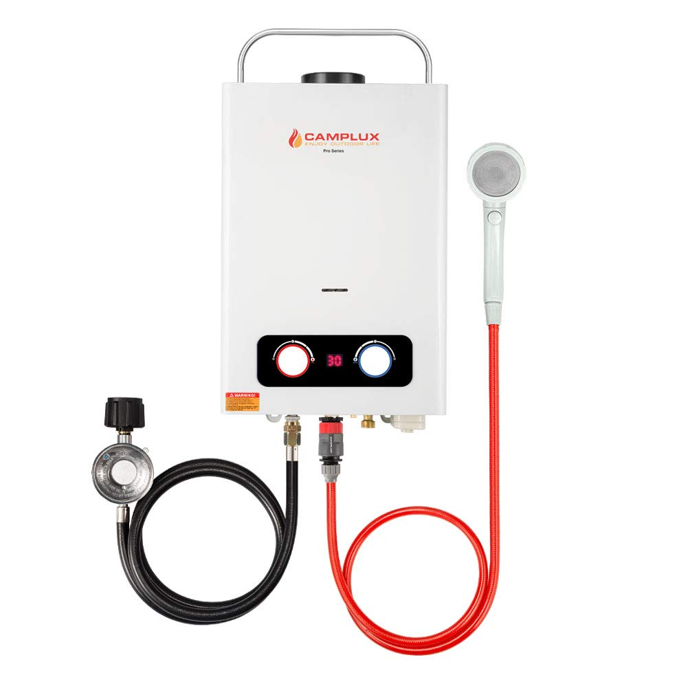 CAMPLUX ENJOY OUTDOOR LIFE BD158 1.58GPM Outdoor Propane Tankless Gas Water Heater by CAMPLUX ENJOY OUTDOOR LIFE
