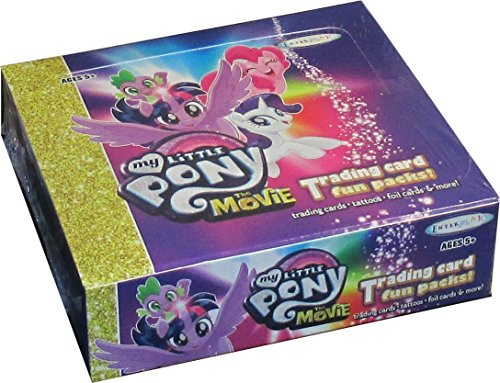 - My Little Pony The Movie Trading Card Fun Pack Box