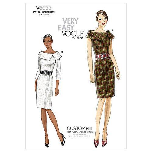 reputable site e6345 a6c00 Vogue Patterns V8630 - Cartamodelli per Abiti da Donna ...