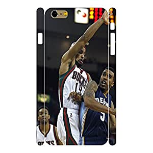 Hipster Super Star Sport Player Design Hard Phone Case Cover for Iphone 6 Plus(5.5 Inch)