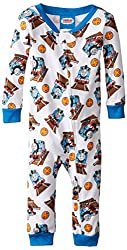 Baby Boys' Thomas and Friends Conductor Blanket Sleeper, Blue, 18 Months