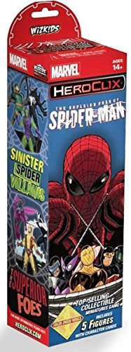 SUPERIOR FOES OF SPIDER MAN SINGLE BOOST - Spider Man Booster Pack Shopping Results