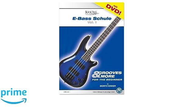 Método bajo eléctrico - Vol. 1 (+ DVD): Amazon.es: Instrumentos musicales