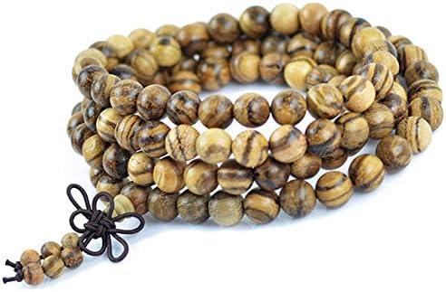 Amazon.com: Ochoos Authentic Vietnamese agarwood Incense 108 Beads 6-8mm Fashion Prayer Beads Meditation Bracelets Men Jewelry Wood Wristband 0300 - (Metal Color: 8mm): Arts, Crafts & Sewing