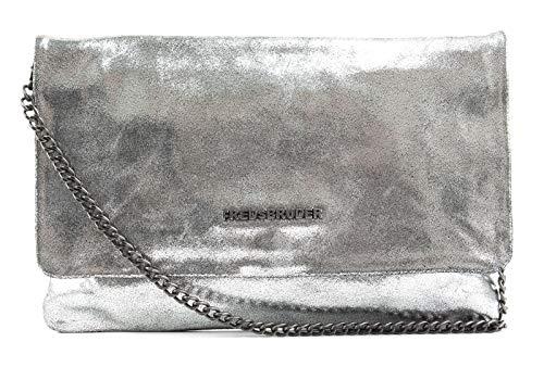 24 cuir bandouliére Silber Metallic cm Bright silber FREDsBRUDER Sac Silber wpqtI4B