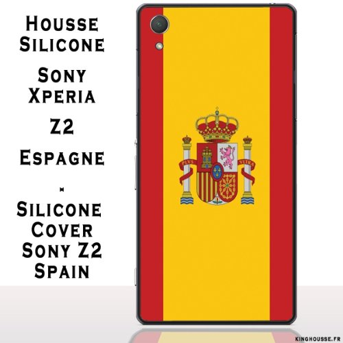 Amazon.com: SILICONE CASE FOR SONY XPERIA Z2-SPAIN: Cell ...