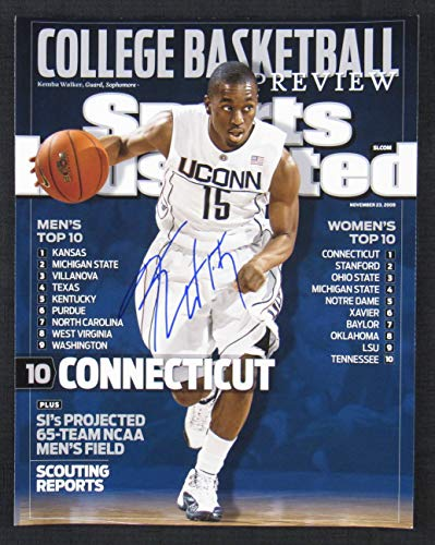 Walker Signed Photo - Kemba Walker Signed Auto Autograph 11x14 Photo I