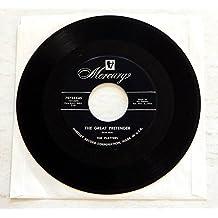 The Platters THE GREAT PRETENDER b/w I'M JUST A DANCING PARTNER - Mercury Records 1955 - Vinyl 7 Inch Single Record - MONO - Cool Rock & Roll / R&B HIT single!