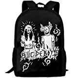 WANGZII $uicideboy$ Backpack For Women Men,School Hip Hop College Backpack Lightweight Packable Travel Hiking Fashion Backpack