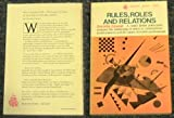 Rules, Roles and Relations, Dorothy Emmet, 0807015253