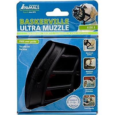 Baskerville 5-Inch Rubber Ultra Muzzle