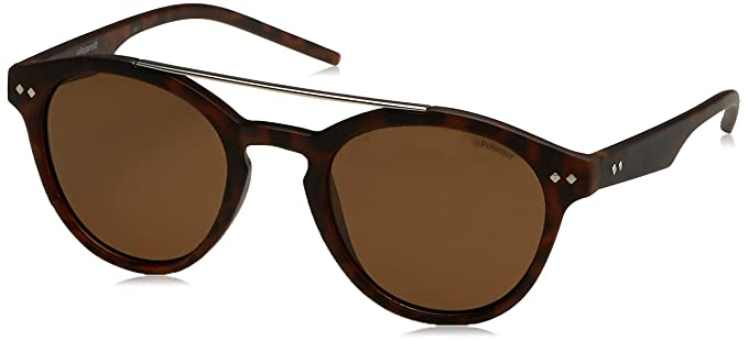 f1bc395fb59 Image Unavailable. Image not available for. Color  Polaroid Sunglasses  Pld6030s Polarized Oval Sunglasses MATT HVNA ...