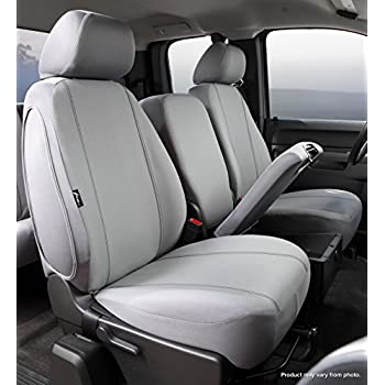 Fia SP87-36 GRAY Custom Fit Front Seat Cover Split Seat 40/20/40 - Poly-Cotton, (Gray)